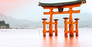 Miyajima, The famous Floating Torii gate, Japan..jpg